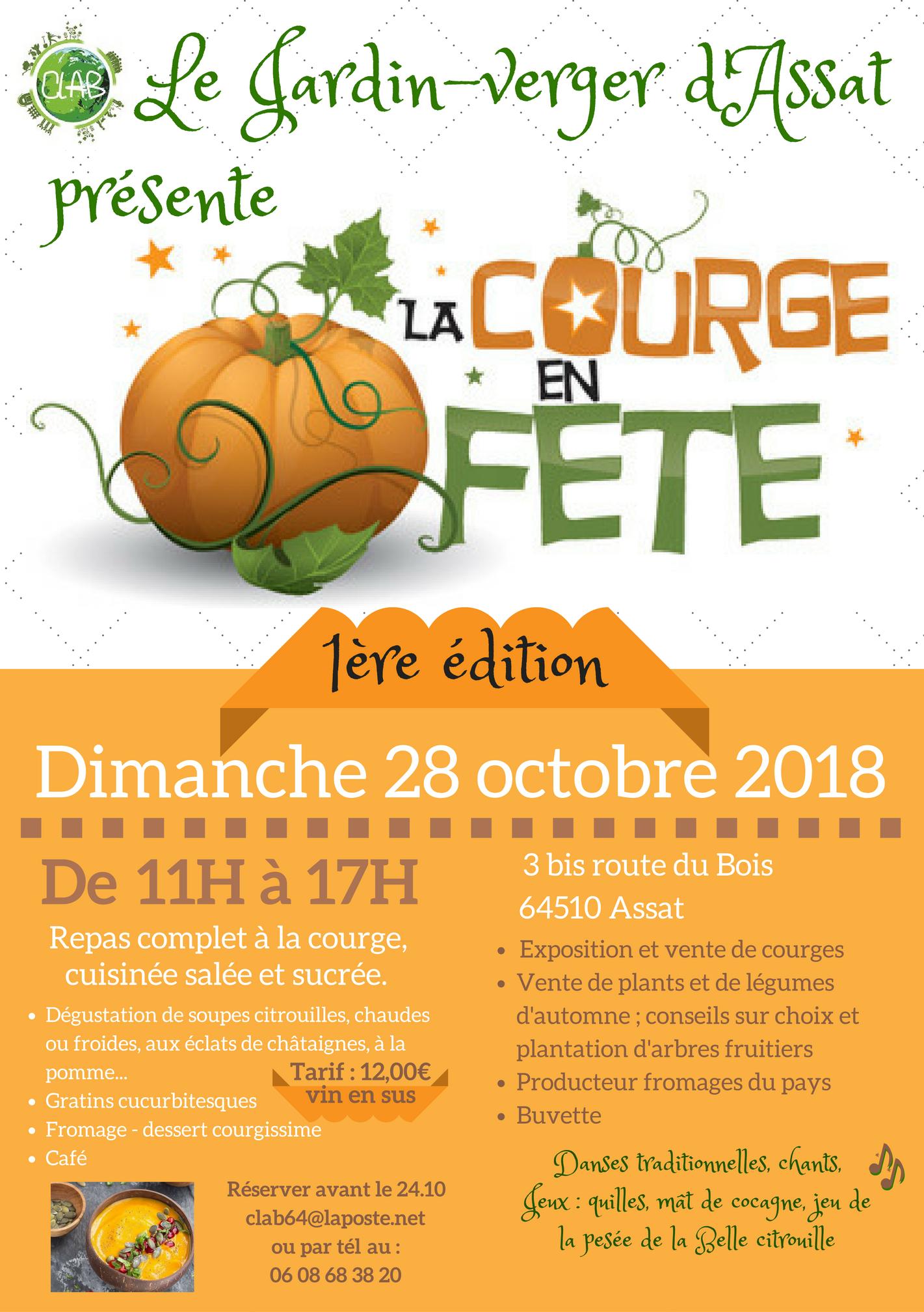 Flyer Courge en fête 28.10.18